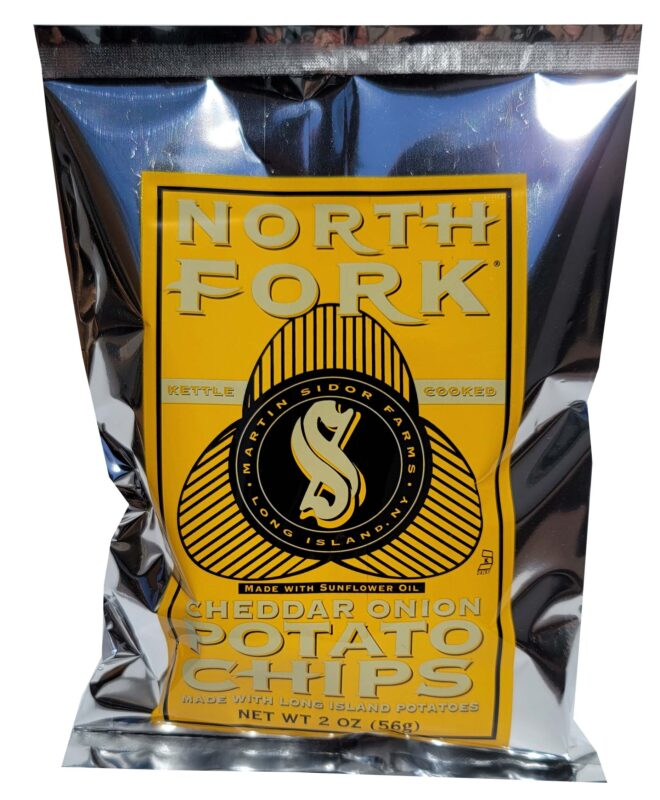 North Fork Potato Chips - Cheddar and Onion