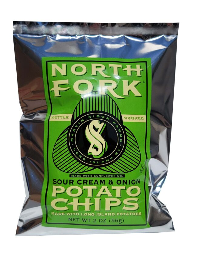 North Fork Potato Chips - Sour Cream and Onion